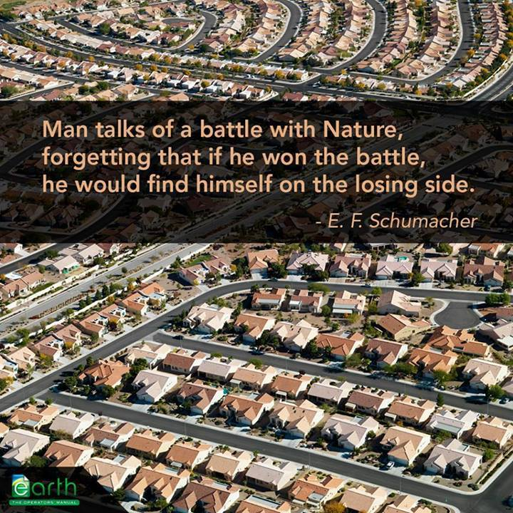 Nature Vs Man Quotes