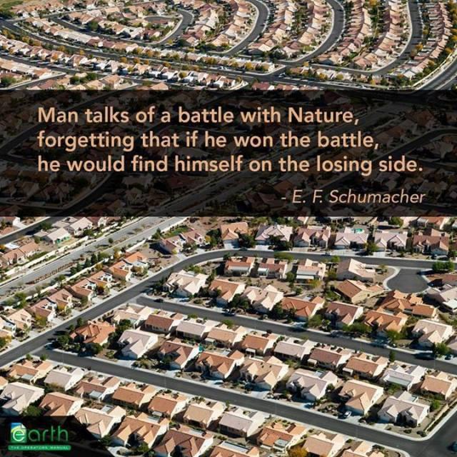 man vs. nature