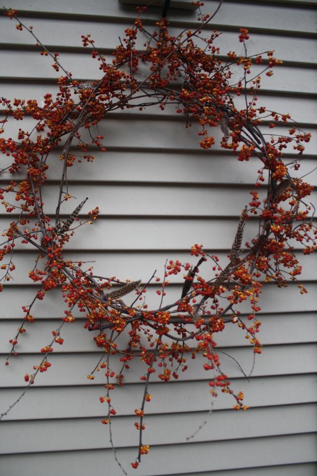 Bittersweet vine wreath