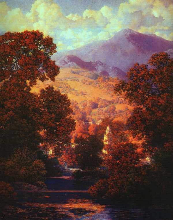 Maxfield Parrish Sky Eliza Waters