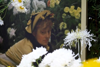 Victorian in her garden