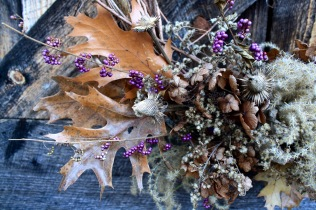wreath closeup
