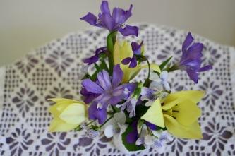 Tulip, Iris & Violets
