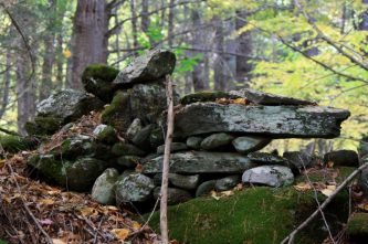 New England stone wall