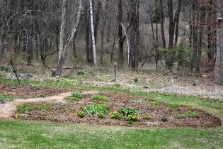 April - main garden